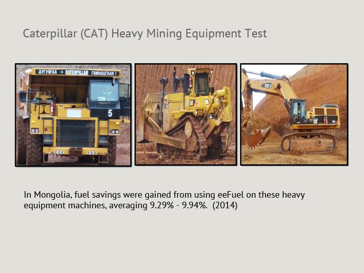 Caterpillar (CAT) Heavy Mining Equipment Test