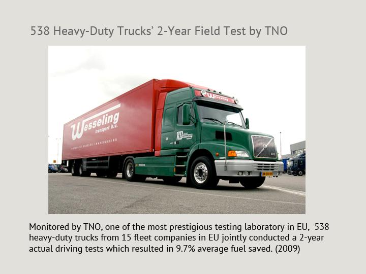 Heavy Duty Truck Fleets Long-Term Test